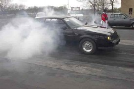 Winter Blues No More! Turbo Buick Burnouts To Cheer You Up!