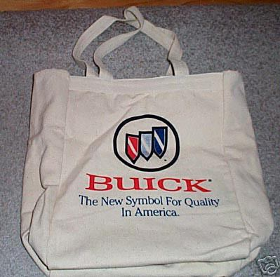 BUICK CANVAS TOTE BAG