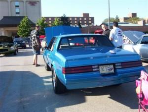 blue buick regal