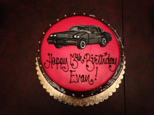 buick gn car cake