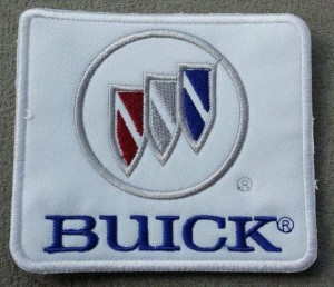 buick logo and tri shield logo patch