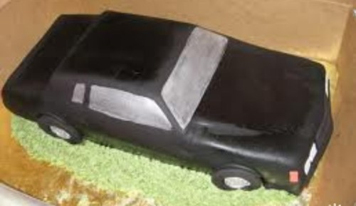 buick regal GN car cake