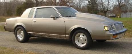 gray buick regal