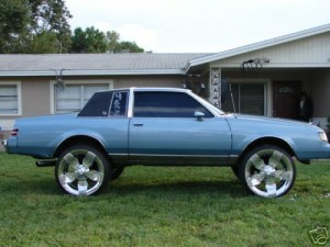 lifted blue regal
