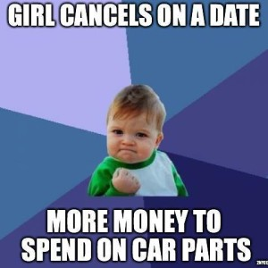 money for car parts