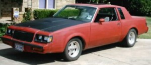 off red buick regal