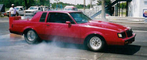 red buick regal race car