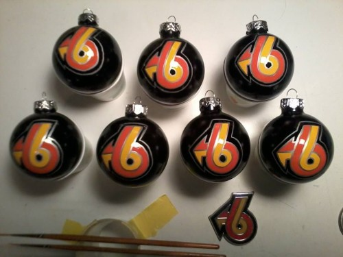 turbo 6 christmas ball ornaments