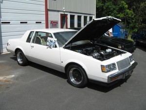 white 1987 buick