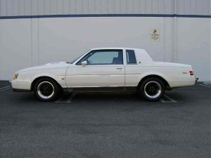 white 1987 regal limited