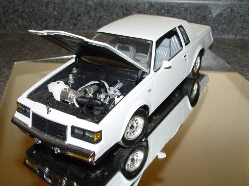 GMP Buick Regal T Type diecast car