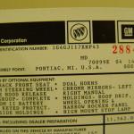 GMP 8002 Buick Regal