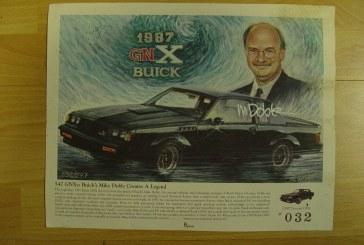 1:18 Scale GMP 8003 1987 Buick GNX