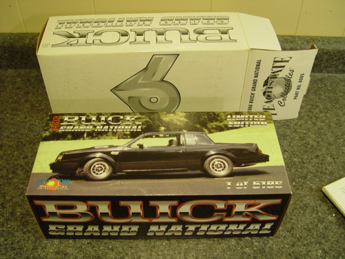 gmp 1986 buick GN box