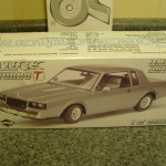 buick turbo t diecast model car collector box