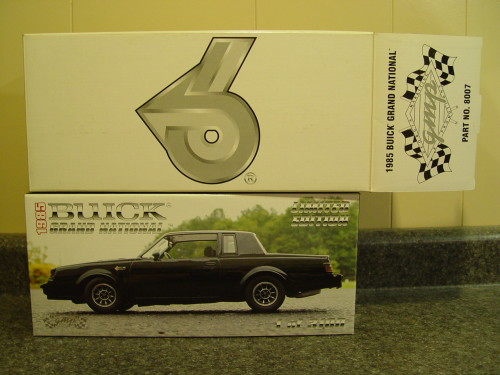 gmp 8007 diecast collector box