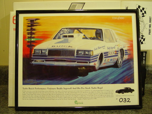 epitome exclusives buick buddy ingersoll llithograph