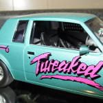 buick tweaked diecast car