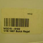 1/18 scale buick regal diecast