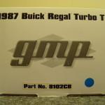 MTR enterprises blue chrome buick regal diecast model