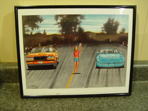 epitome 1987 buick grand national lithograph