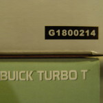 gmp 1987 light sage metallic buick turbo t