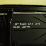 gmp GM Buick license