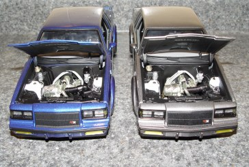 1:18 Scale GMP G1800221-222 GNX Drag Buicks