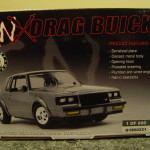 gray gnx drag buick scale model