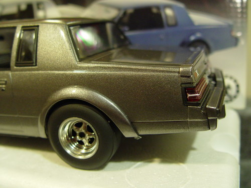 gray gnx drag buick diecast car
