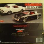 gmp 1986 buick t-type diecast replica