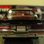 1986 buick t type black diecast model