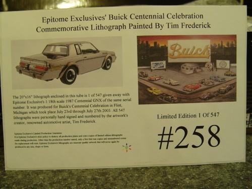 buick celebration poster