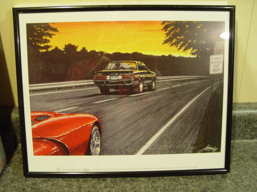 Epitome Exclusives 1987 buick grand national lithograph