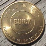 1950s BUICK ADVERTISING MEDAL 2