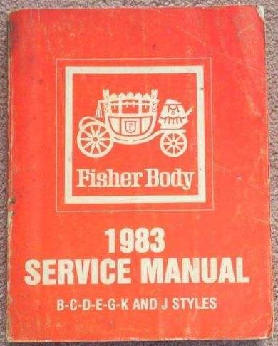 1983 GM Fisher Body Service Manual