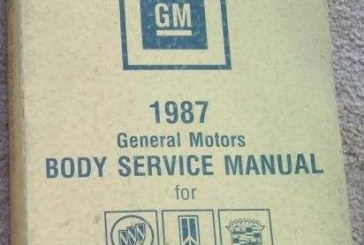 Fisher Body Service Manuals