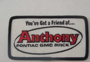 ANTHONY PONTIAC GMC BUICK PATCH