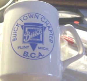 BCA Buick Town Chapter Mug