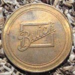 BRONZE BUICK ADVERTISING MEDAL 2