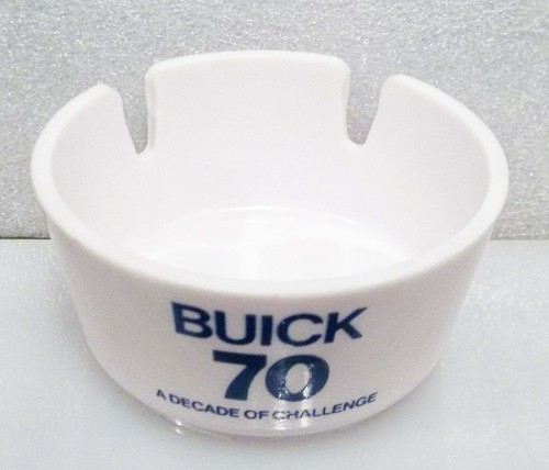 BUICK 70 ASHTRAY A DECADE OF CHALLENGE