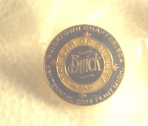 BUICK CLUB OF AMERICAN PIN BADGE BUICK 2003 CENTENNIAL FLINT MI