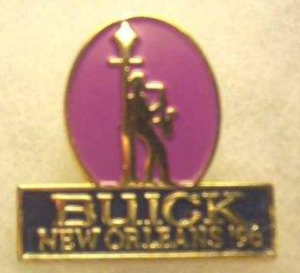 BUICK NEW ORLEANS 1996 PIN