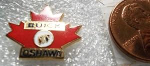 BUICK OSHAWA LAPEL PIN