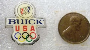 BUICK USA OLYMPIC PIN