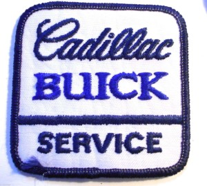 Cadillac Buick Service Patch
