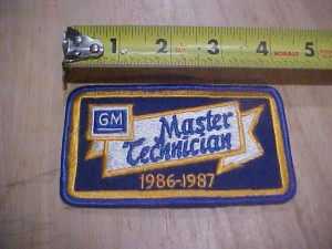 GM master technician 1986 1987