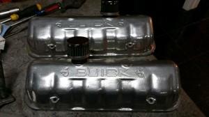 TA performance Buick Valve Covers