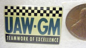 UAW GM TEAMWORK OF EXCELLENCE PIN