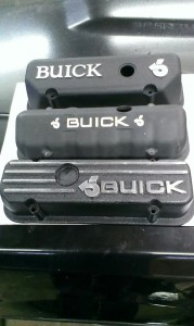 black buick valve covers